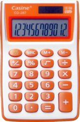 kalkulačka Casine CD-287 oranžová-12 míst, oranžová