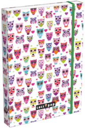 box na sešity A4 Lollipop Light Owl 17307923