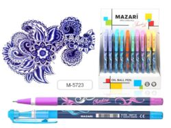 kuličkové pero Shadow M-5723 oil gel