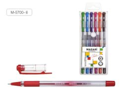 kuličkové pero Sailor M-5700- 6 barev oil gel