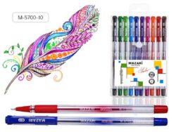 kuličkové pero Sailor M-5700-10 barev oil gel