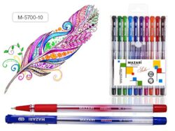 žkuličkové pero Sailor M-5700-10 barev oil gel