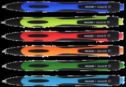 kuličkové pero Grand M-5759 0,7mm oil gel-PRODEJ POZE PO BALENÍ