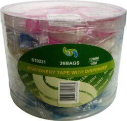 lepící páska  12 x 10 s odvíječem(4893643141423)
