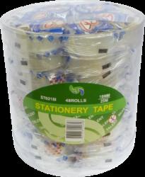 lepící páska 18 x 25 transp.trhací v sáčku(4893643142253)