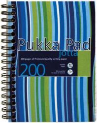 blok PUKKA JOTTA spir. A6 200str. linka JP036 (120)-Poznámkový blok s boční spirálou, A6 100 listů, linkovaný. Perforované stránky. Papír 80g/m2.
