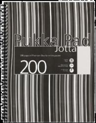 blok PUKKA JOTTA spir.A4 200str. linka JP018(5) ČB (814)