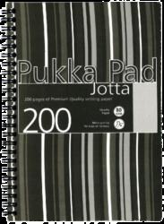 blok PUKKA JOTTA spir.A5 200str. linka JP021(5) ČB (838)