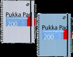 žblok PUKKA  JOTTA FLORAL 7288 spir. A4 200str. linka-Poznámkový blok s boční spirálou, A4 100 listů, linkovaný. Barevné rozlišovače s kapsou pro lepší orientaci, možnost libovolného přesunutí. Perforované stránky. Papír 80g/m2.