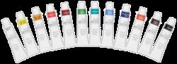 barvy akrylové DOA 551000 12ks 12ml-akrylové barvy základní