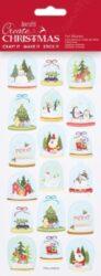DO samolepky PMA 828908 vánoční Pretty Snowglobes