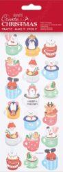 DO samolepky PMA 828911 vánoční Hot Chocolate