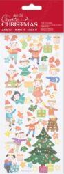 DO samolepky PMA 828912 vánoční Festive Dancing