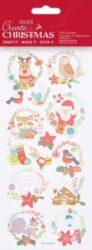 DO samolepky PMA 828914 vánoční Folk Wreaths