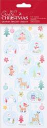 DO samolepky PMA 828925 vánoční Glass Baubles