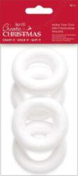 polystyren W PMA 827920 věnec 9cm 4ks