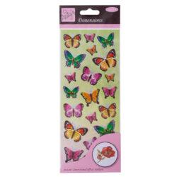 DO samolepky ANT 8161003 prostorové Buterflies Green & Lilac