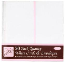 DO obálky+karty ANT 1513020 DL bílé 50ks