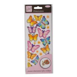 DO samolepky ANT 8161014 prostorové Spring Buterflies