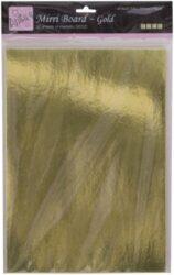 papír A4 karton zlatý zrcadlový 20l 250g ANT 1641001