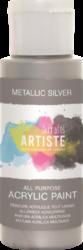 DO barva akryl. DOA 763101 59ml Metallic Silver-akrylová barva ARTISTE metalická