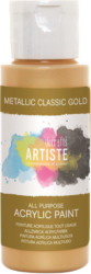 DO barva akryl. DOA 763103 59ml Metallic Classic Gold-akrylová barva ARTISTE metalická