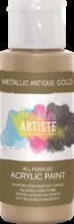 DO barva akryl. DOA 763104 59ml Metallic Antique Gold-akrylová barva ARTISTE metalická