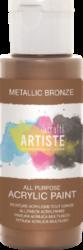 DO barva akryl. DOA 763105 59ml Metallic Bronze-akrylová barva ARTISTE metalická