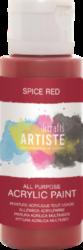 DO barva akrylová DOA 763213 59ml Spice Red-akrylová barva ARTISTE základní