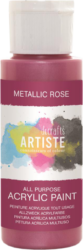 DO barva akryl. DOA 763107 59ml Metallic Rose-akrylová barva ARTISTE metalická