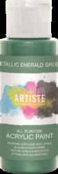 DO barva akryl. DOA 763109 59ml Metallic Emerald Green-akrylová barva ARTISTE metalická
