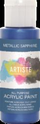 DO barva akryl. DOA 763110 59ml Metallic Sapphire-akrylová barva ARTISTE metalická