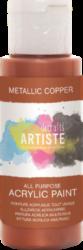DO barva akryl. DOA 763111 59ml Metallic Copper-akrylová barva ARTISTE metalická
