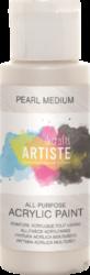 DO barva akryl. DOA 763001 59ml Pearl Medium-akrylová barva ARTISTE perleťová