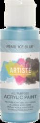 DO barva akryl. DOA 763003 59ml Pearl Ice Blue-akrylová barva ARTISTE perleťová
