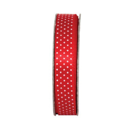 DO stuha ANT 378403 3m tečkovaná Radiant Red
