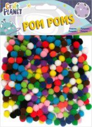 DO pompoms CPT 6621105 9g průměr 7mm - mix barev