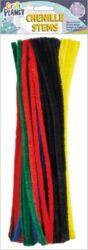 DO drát plyšový CPT 6601107 300mm 60ks 6 zákl.barev