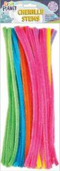 DO drát plyšový CPT 6601109 300mm 60ks 6 neon.barev