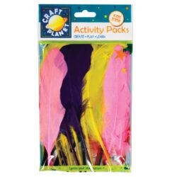 žDO peří CPT 6541102 kachna 7g mix barev