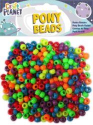 DO korálky plast CPT 6511104 Bright Neon (500pcs, 140g)