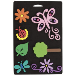 žDO razítka pěnová CPT 6661104 FLOWERS & BUGS*