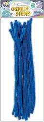 drát plyšový CPT 660002 300mm 20ks modrý