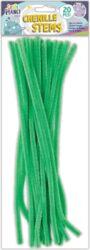 DO drát plyšový CPT 660003 300mm 20ks zelený