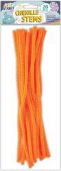 DO drát plyšový CPT 660006 300mm 20ks oranžový