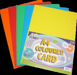 papír A4 karton barevný mix 25l 280g CPT 157000