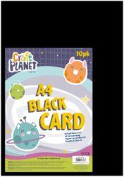 papír A4 karton černý 10l 280g CPT 157002