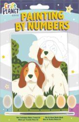 malování podle čísel CPT 658700 mini - Dogs-obsahuje vše, aby vaše děti mohly začít hned po vybalení malovat