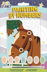 malování podle čísel CPT 658703 mini - Horse-obsahuje vše, aby vaše děti mohly začít hned po vybalení malovat