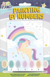 malování podle čísel CPT 658706 mini - Unicorn-obsahuje vše, aby vaše děti mohly začít hned po vybalení malovat